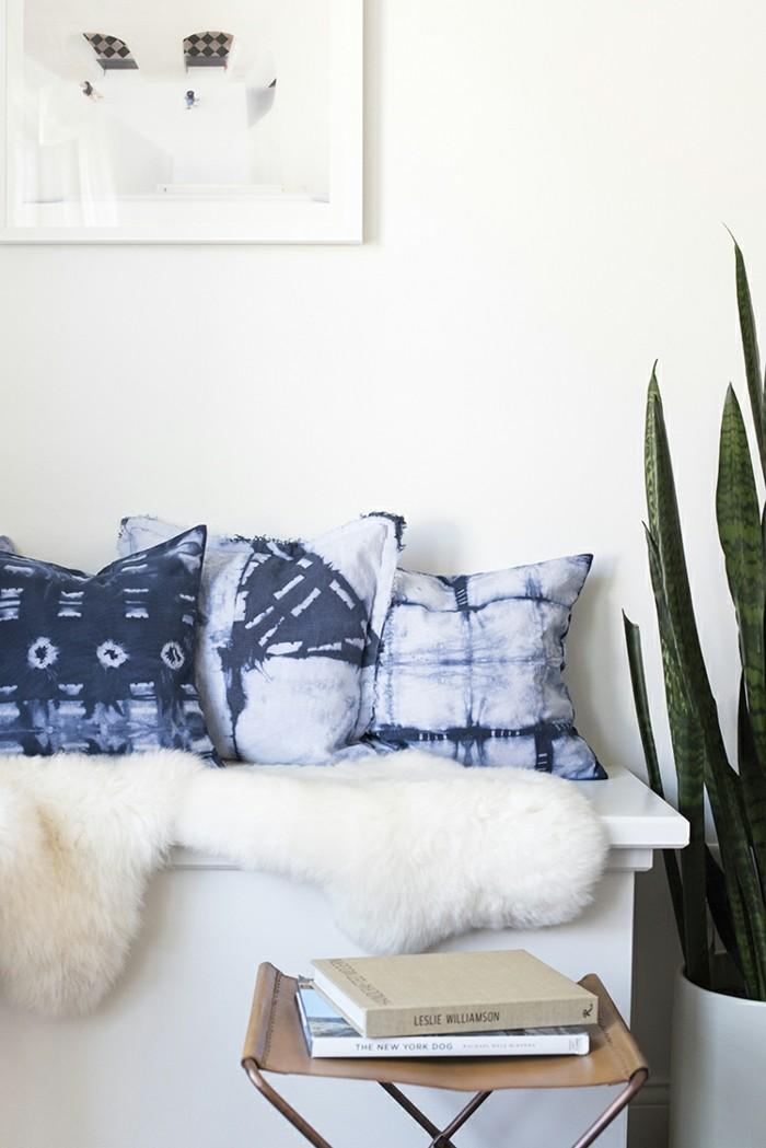 kissen n hen anleitung und ideen wie sie kissenh llen f r die wohnungsdekoration selber machen. Black Bedroom Furniture Sets. Home Design Ideas