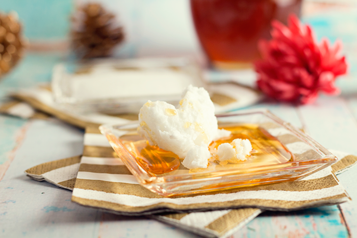 diy lippenpeeling idee kokonussöl honig zucker