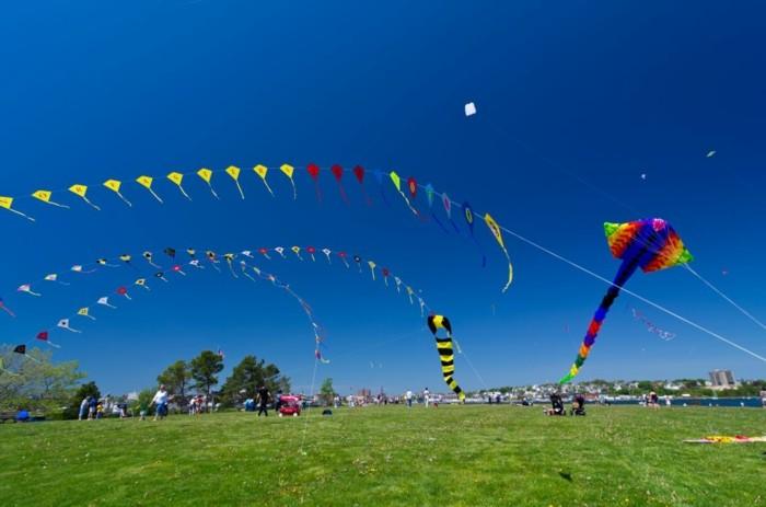 drachensteigen lassen kinder festival