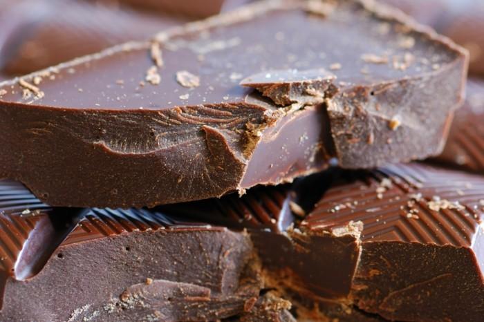 dunkle schokolade hat weniger milch und zucker