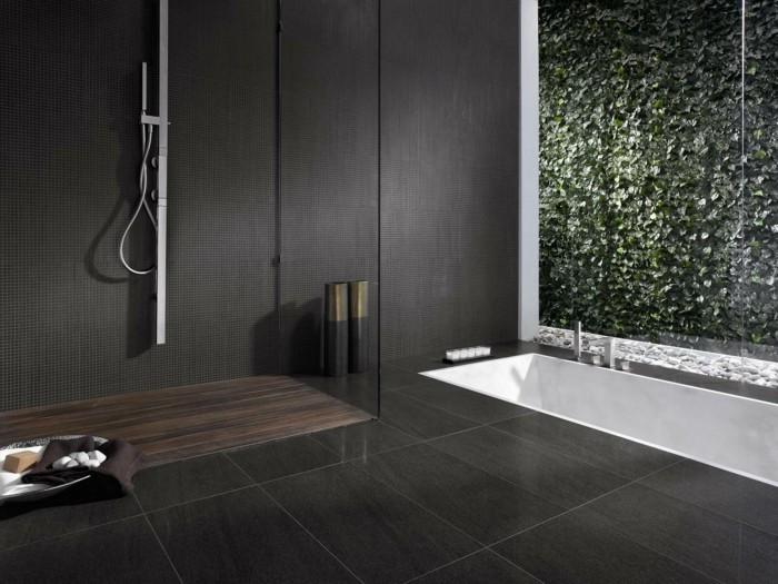 Ebenerdige Dusche Minimalistisches Badezimmer Design