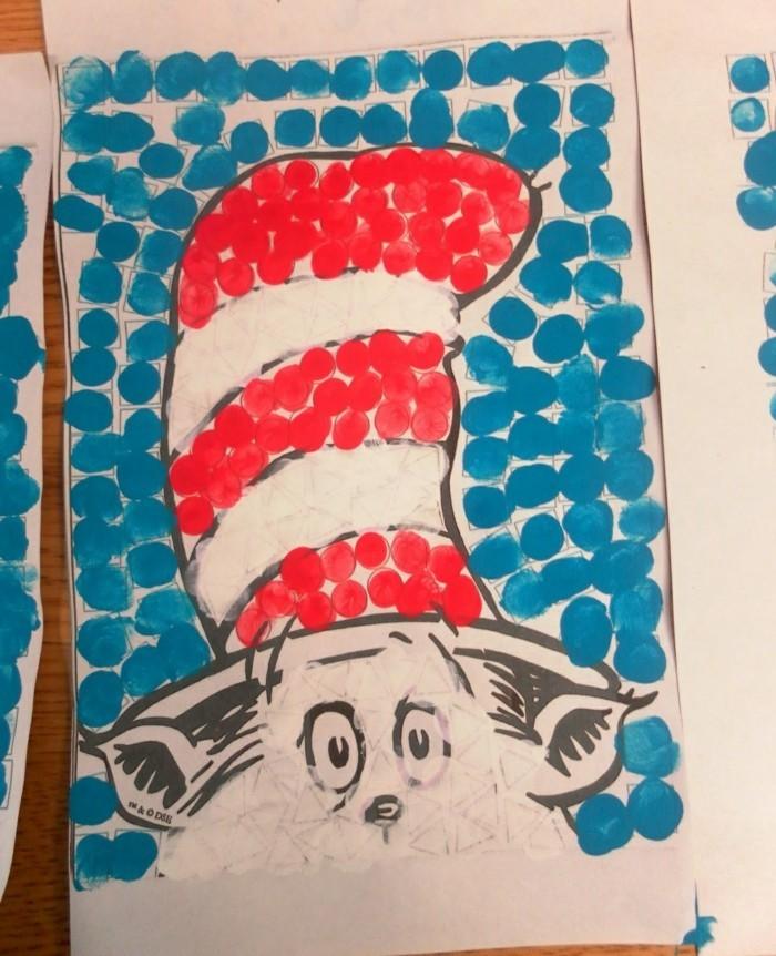 fingerabdruck bilder bastelideen für kinder die die kreativität fördern