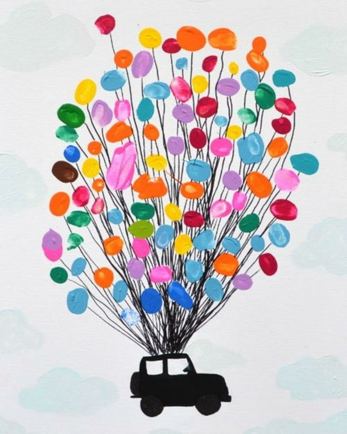 Childrens Mothers Day Painting Ideas