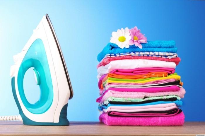 frische wäsche richtig bügeln