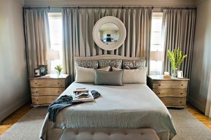 gardinen schlafzimmer die farben im schlafbereich richtig aufeinander abstimmen