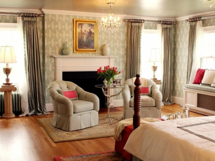 gardinen schlafzimmer für ein luxuriöses und elegantes ambiente