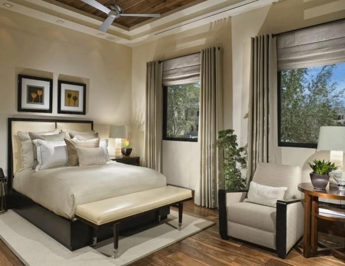 gardinen schlafzimmer helle vorhänge und helle wände sorgen für schöne erholung im schlafbereich