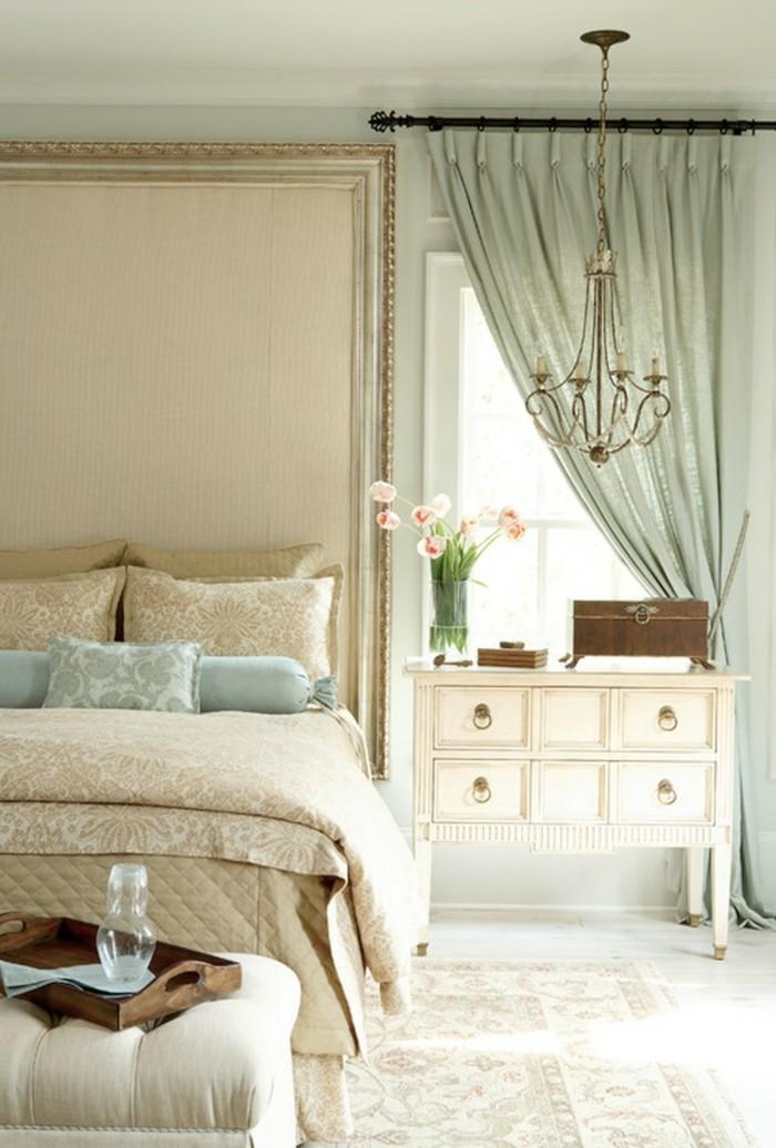 gardinen schlafzimmer stilvolle grüne gardinen im luxuriösen schlafbereich