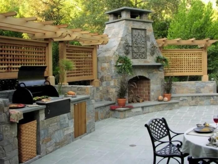 Steine Für Außenküche : Bau einer außenküche mit napoleon prestige grillforum und