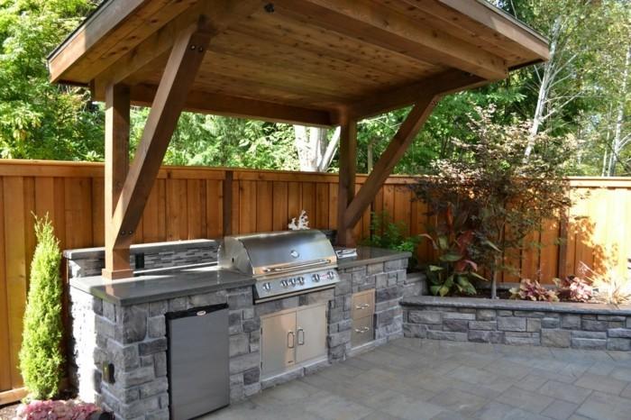 Outdoorküche Stein Helloween : Outdoor küche macht es möglich köstliches essen draußen zu genießen