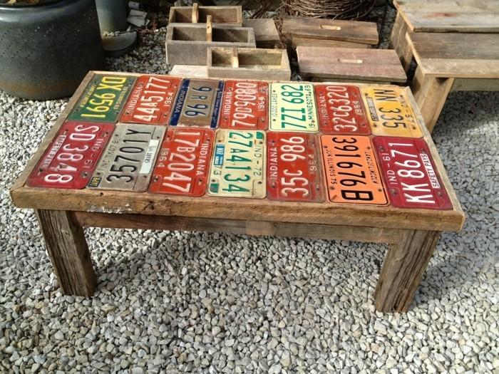 gartenprojekt aus einem alten tisch