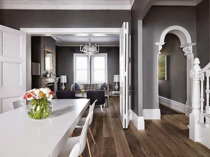 Grau Braun Weiß Neutrale Farbpalette Kleine Wohnung Eirichten Kleine Wohnung  Einrichten: 22 Einfache Wege, Den Kleinen Raum Zu Vergrößern ...