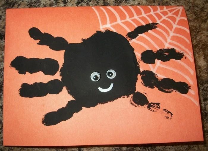 handabdruck bilder lustige ideen für kinder