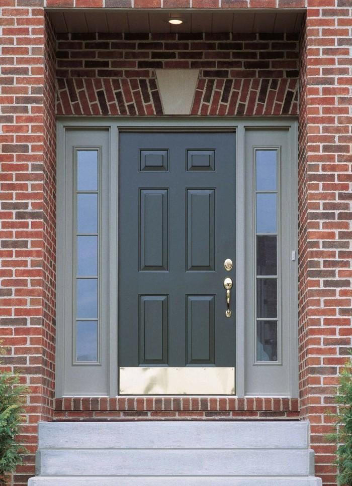 Haustür landhaus grau  Moderne Haustüren bieten einzigartiges Design und mehr Sicherheit ...