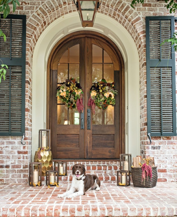 20 front doors that are real eye-catchers