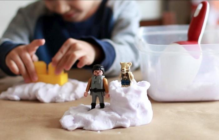 kinetic sand diy ideen kinderspiele