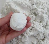 Kinetic Sand selber machen: Das einfachste Rezept!