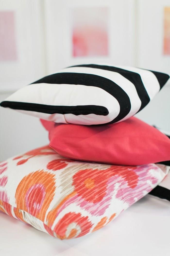 Kissen nähen - Anleitung und Ideen, wie Sie Kissenhüllen für die ...