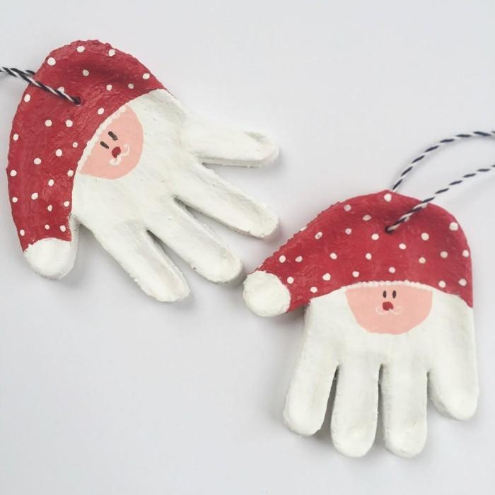 53 salzteig ideen inspirierende vorschl ge wie sie zusammen mit ihren kindern basteln - Weihnachtsdeko basteln mit kindern ...
