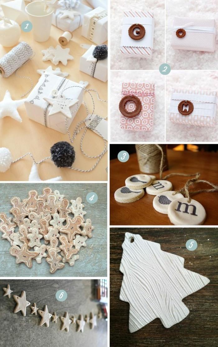 kreativ basteln mit salzteig unterschiedliche dekoration selber machen