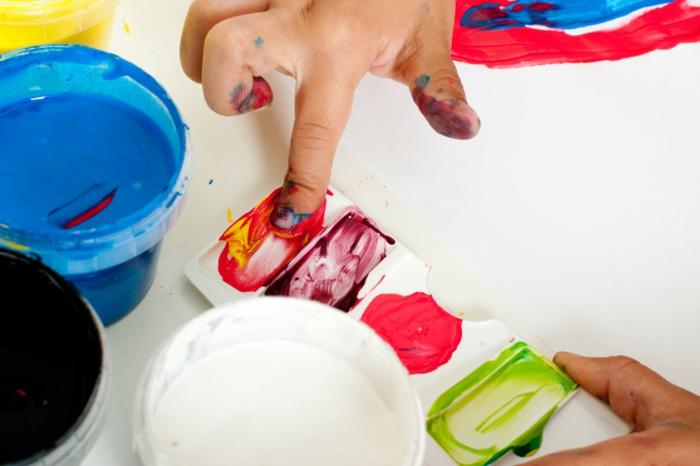 fingerabdruck bilder kreative bastelideen wie macht man bilder mit fingerabdrücken