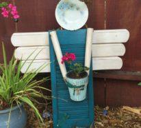 Gartendeko basteln aus Naturmaterialien – 35 Beispiele, wie Sie den Garten aufpeppen