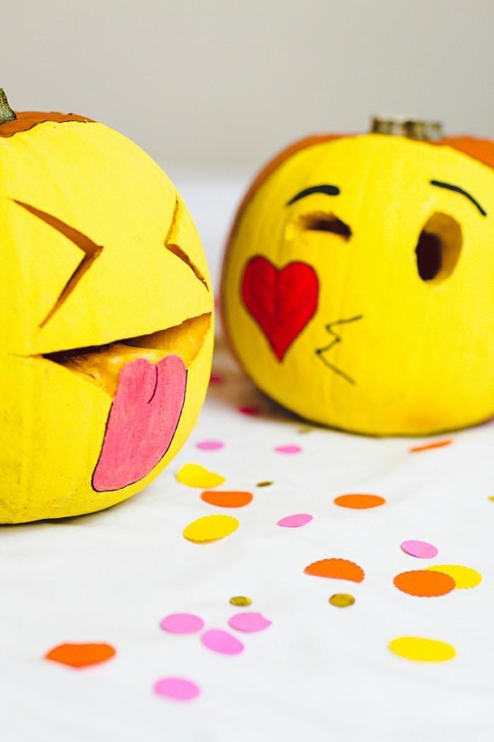 kreative gartenideen mit kürbissen zu halloween