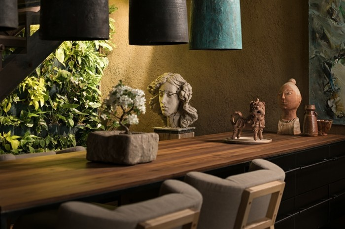 kreative wohnideen wabi sabi dekoration bringt ein bestimmtes raumgefühl zustande