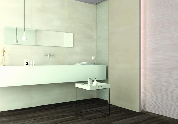 minimalistische badezimmereinrichtung
