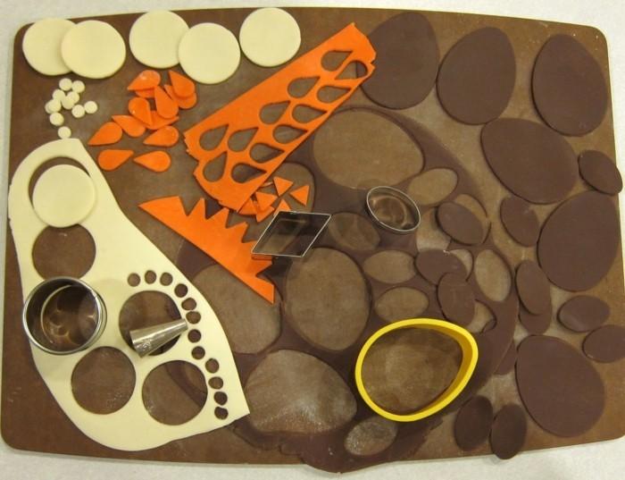 modellierschokolade bastelideen zu ostern