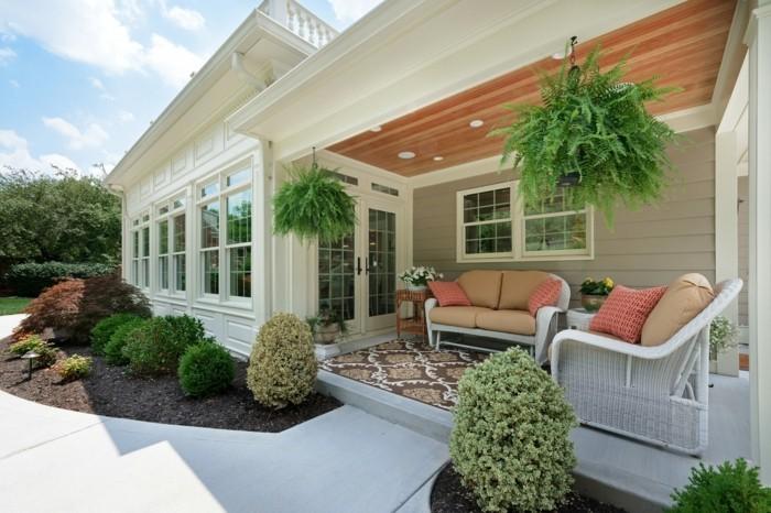 moderne terrassengestaltung komfort und frischer look
