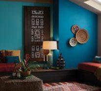Aktuelle Blautöne und Farbmuster in der Raumgestaltung 2020