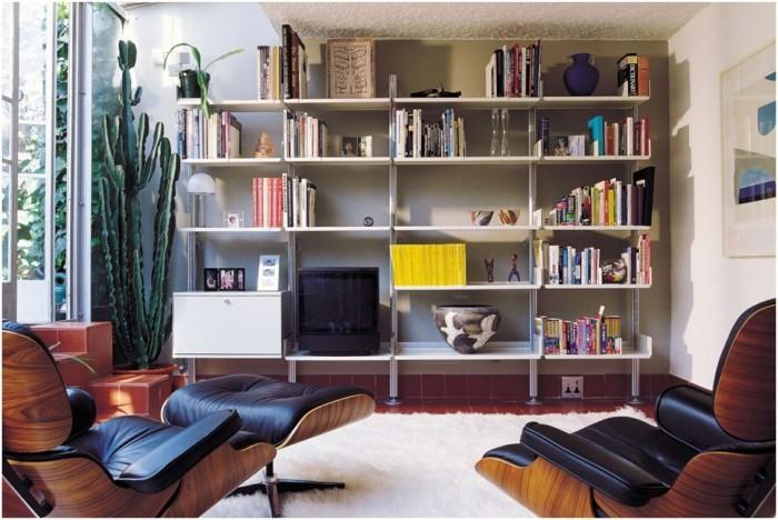 regalsysteme wohnzimmer arbeitszimmer wohnraum