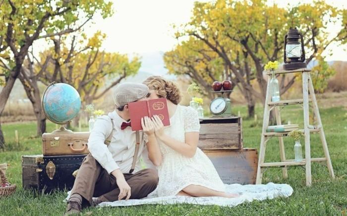 romantische vintage hochzeit spätsommer herbst