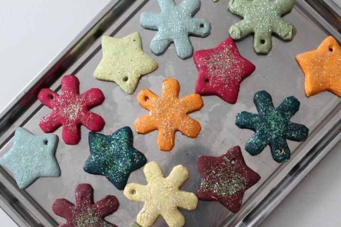 salzteig ideen zu weihnachten für schöne hängedeko