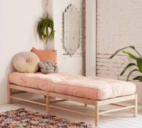 Moderne Schlafcouch ist der absolute Allrounder zu Hause
