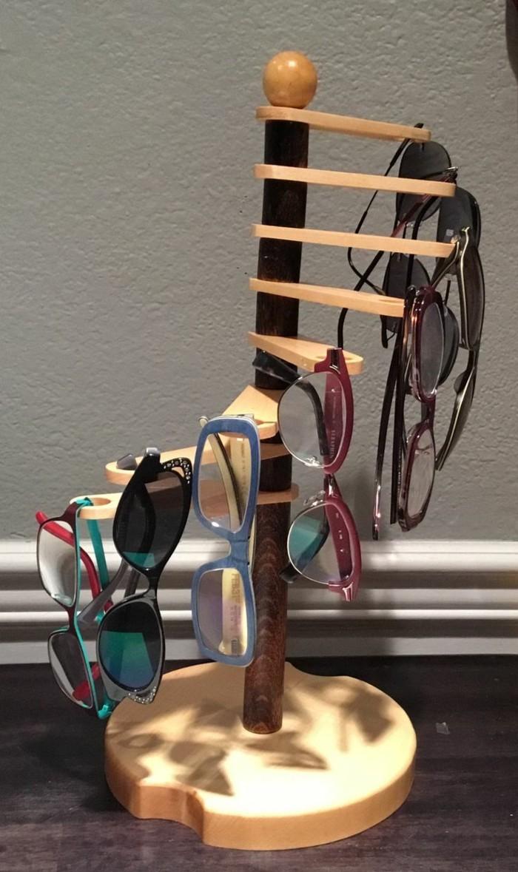 schmuckständer schmuckaufbewahrung diy ideen brillenhalter