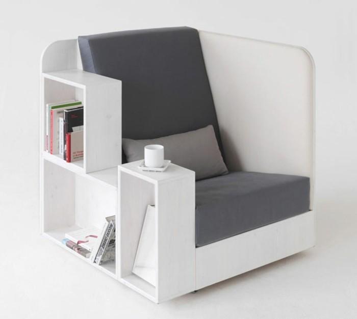 sitzstuhl und stauraum multifunktionsmöbel