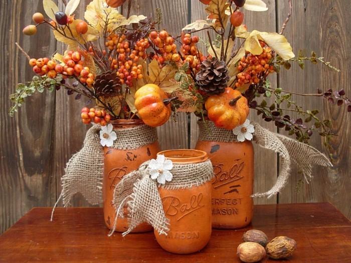 Blumendeko Herbst tischdeko herbst 51 vorschläge für eine herbstliche tafel