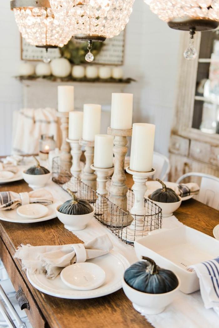 Tischdeko herbst 51 vorschl ge f r eine herbstliche tafel for Wohnungsdekoration ideen