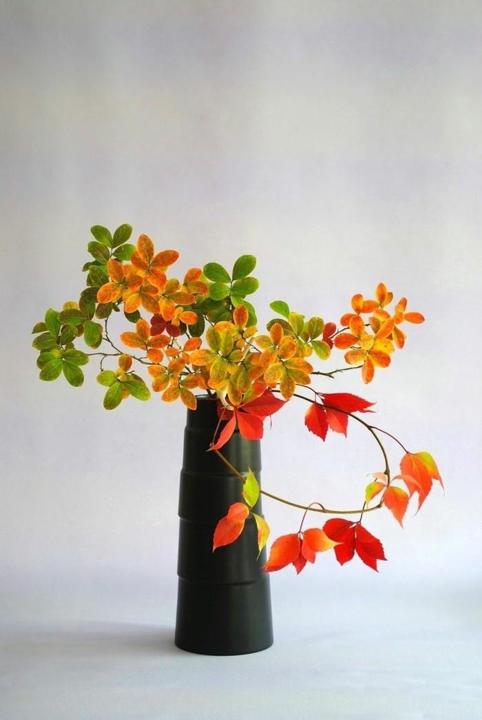 tischdeko ikebana frsiche dekoideen für den herbst