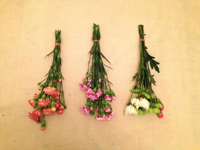 trockenblumen selber machen für die wohnungsdekoration