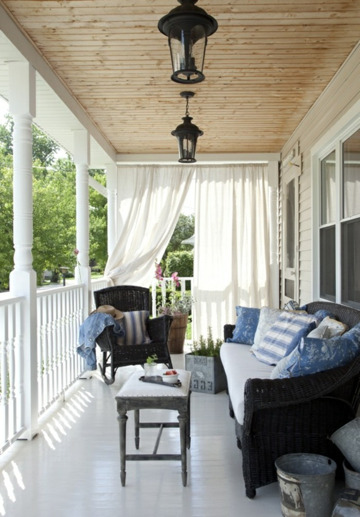 veranda mit romatischer atmosphäre gestalten