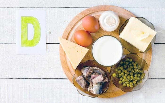 vitamine vitaminD enthält sich in fleisch eiern milchprodukten