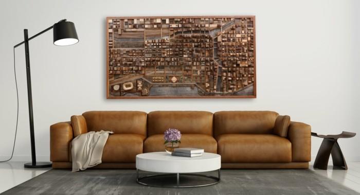 Wanddeko Aus Holz Korrespondenz