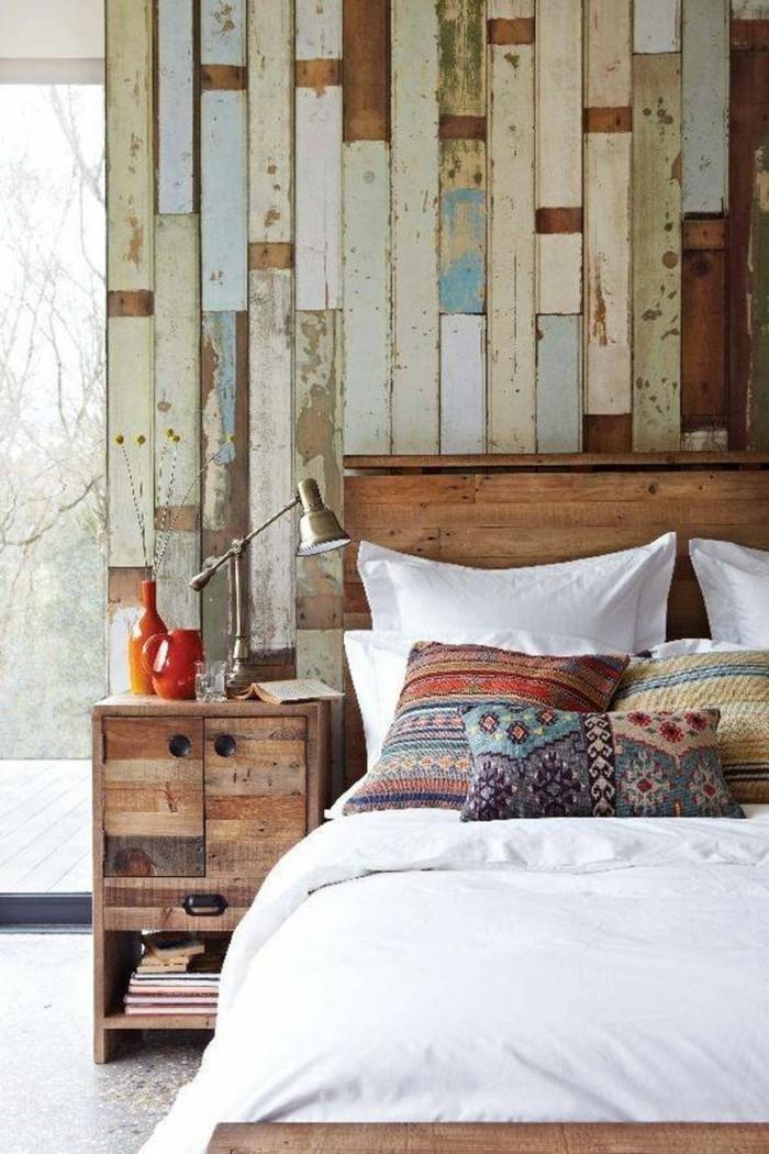 Wanddeko aus holz organische w rme und gem tlichkeit im innenraum - Wanddeko holz ...