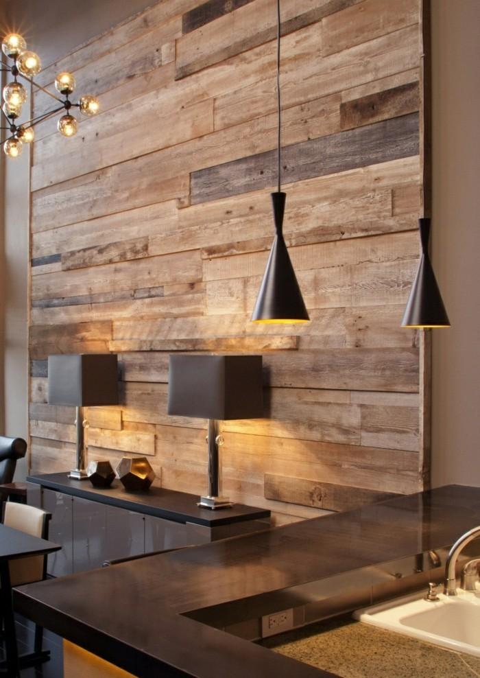Für Die Erwünschte Wirkung Der Wanddeko Aus Holz Spielt Das Licht Eine  Wichtige Rolle