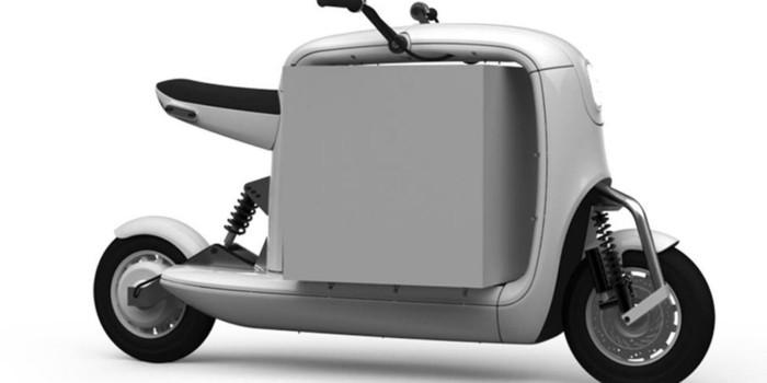 weiß verwaschen moped