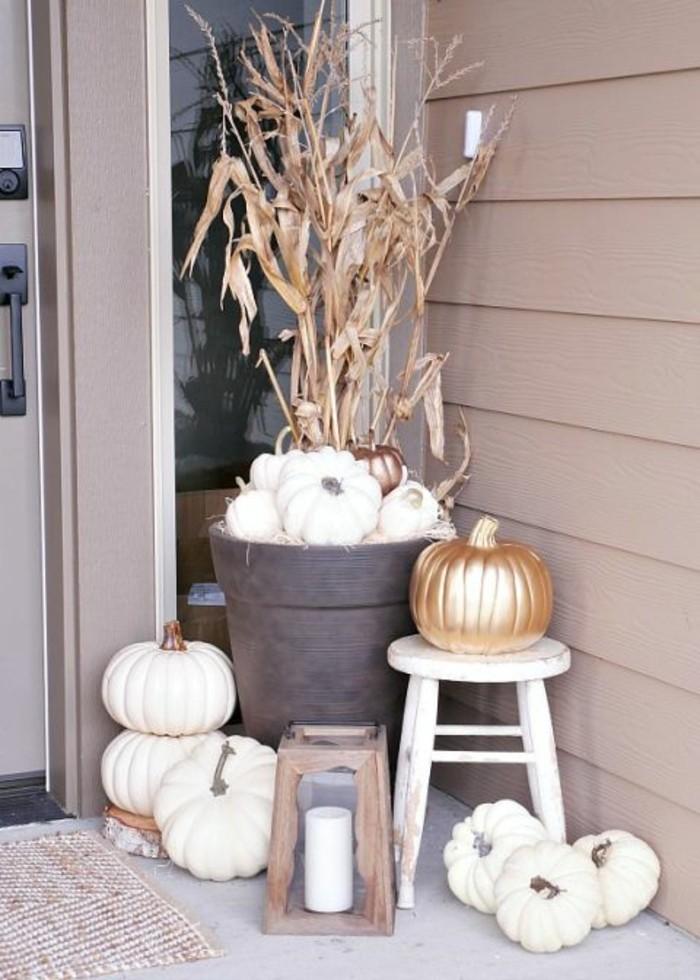 good einfache dekoration und mobel warme kann auch schon sein #2: ... kann die neutrale Herbst Deko sein. weiße ...