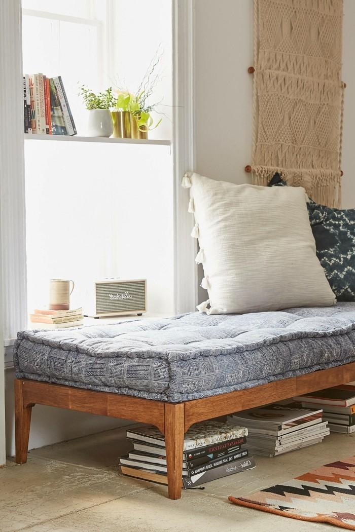 wohniddeen wohnzimmer tagesbett schafft mehr komfort